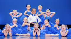 Wellington, NZ. 7 December 2019. The Wellington Dance & Performing Arts Academy end of year stage-show performed at VUW Memorial Theatre, Wellington, NZ. Little Show, Saturday 1.30pm. Photo credit: Stephen AíCourt.  COPYRIGHT ©Stephen AíCourt
